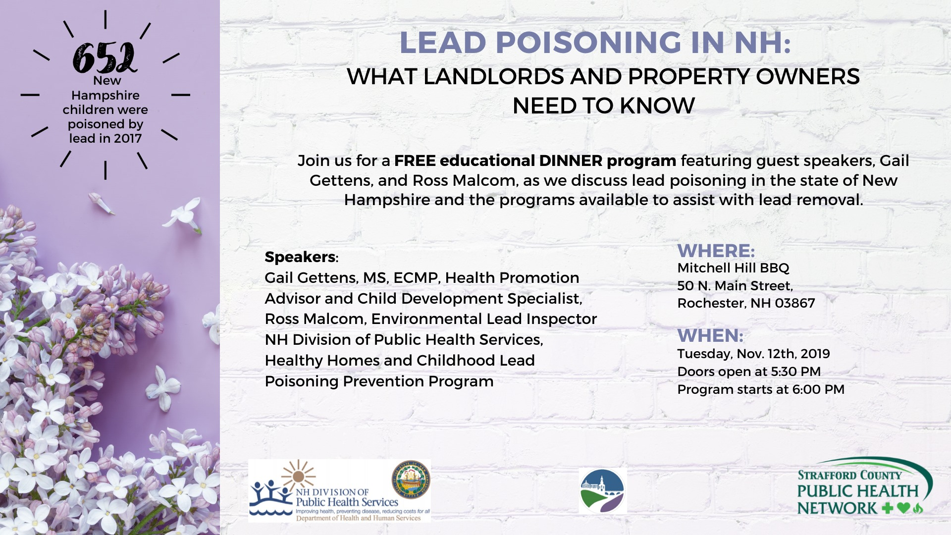 Rochester property owners urged to attend free lead removal seminar
